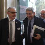 Piero Baggi e Dott. Raffaele Cattaneo Presidente del Consiglio Regionale di Regione Lombardia