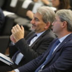 Raffaele Cattaneo e Avv. Davide Galimberti Sindaco di Varese
