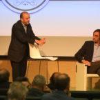 Moderatore Michele Mancino, Vicedirettore Varese News