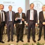 Premiazione 40° di associazione Comec Srl