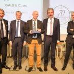 Premiazione 40° di associazione Galli & C. srl
