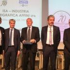 Premiazione 40° di associazione Isa Spa