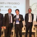 Premiazione 70° di associazione Ponti & Frigerio Off. Meccanica Srl