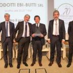 Premiazione 70° di associazione Prodotti Ebi-Brutti Srl