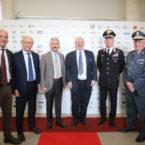 Presidente Provincia, Prefetto di Varese, Questore di Varese, Presidente Tribunale Varese, Vice Comandante Guardia di Finanza e Vice Comandante Carabinieri